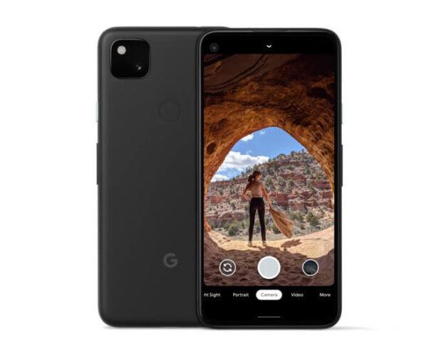 Front i tył Google Pixel 4A