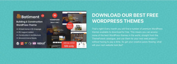 Darmowe motywy WordPress z Themeforest