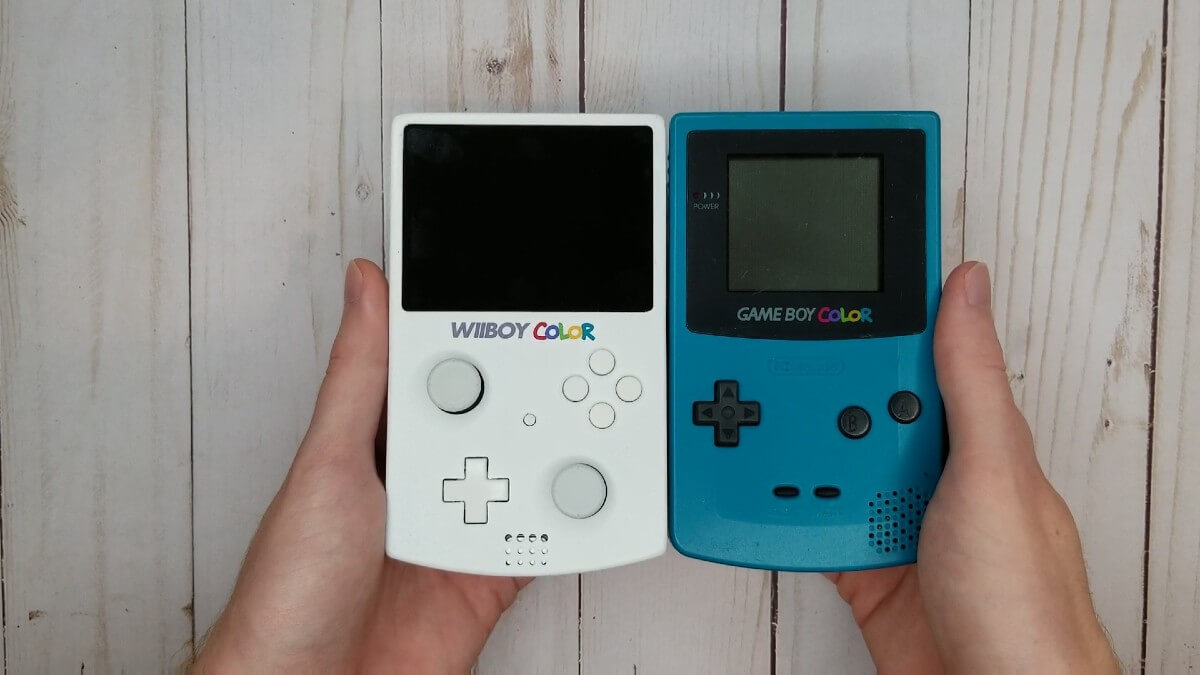 WiiBoy Color i Game Boy Color