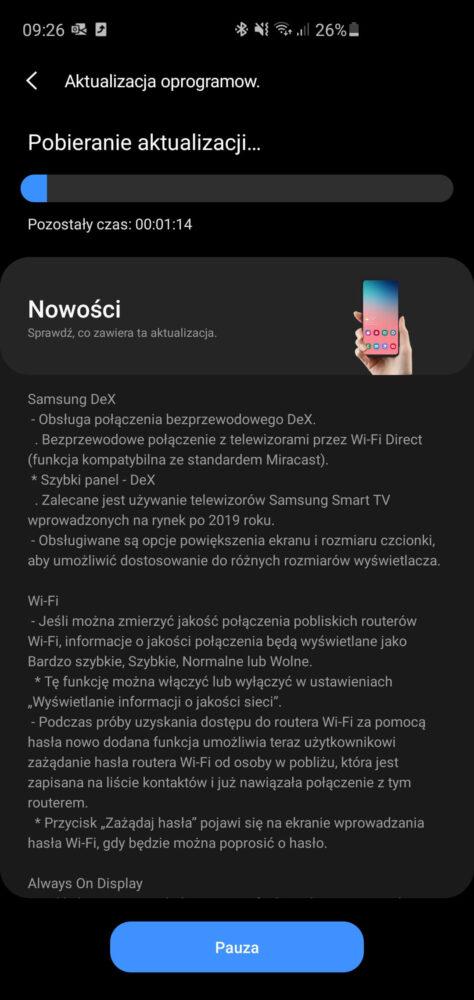 Screenshot 20200914 092635 Software update