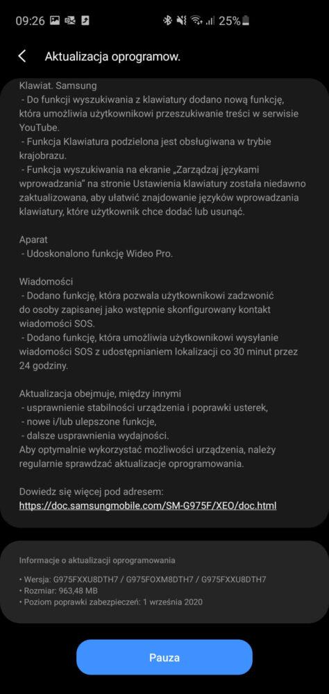 Screenshot 20200914 092657 Software update