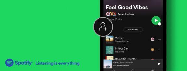 Spotify współtworzenie playlist