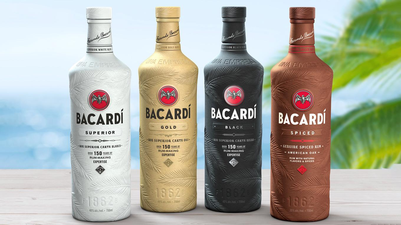 bacardi butelki
