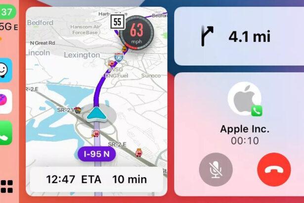 waze carplay split view 2.0