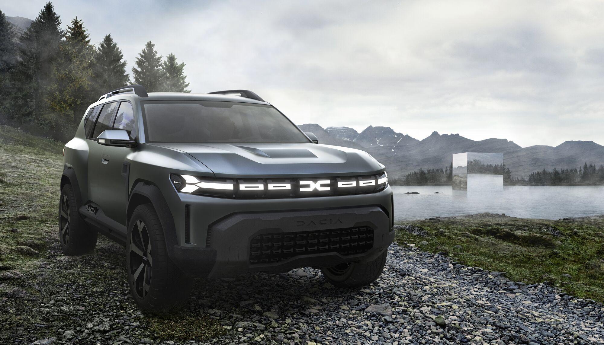 Dacia Bigster este noul concept de la Dacia